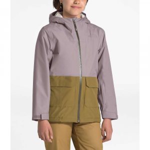 The North Face Youth Fresh Pow Insulated Jacket - Small - Ashen Purple