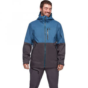 Black Diamond Men's BoundaryLine Mapped Jacket - XL - Astral Blue / Carbon