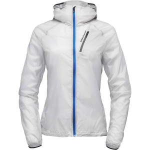 Black Diamond Women's Distance Wind Shell Jacket - Large - Alloy