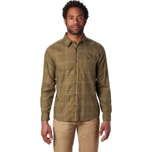 Mountain Hardwear Men's Burney Falls LS Shirt - Large - Combat Green
