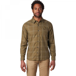 Mountain Hardwear Men's Burney Falls LS Shirt - Medium - Combat Green