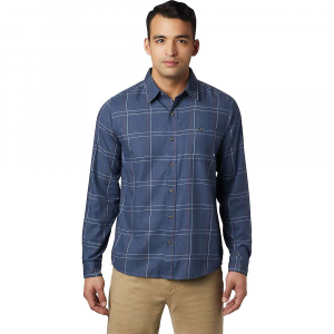 Mountain Hardwear Men's Burney Falls LS Shirt - Medium - Zinc