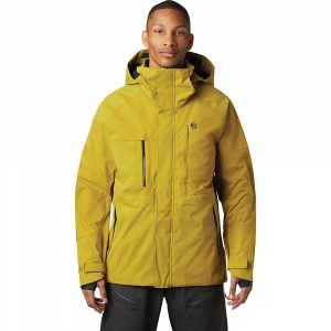 Mountain Hardwear Men's Firefall/2 Jacket - Medium - Dark Citron