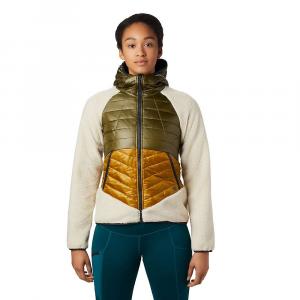Mountain Hardwear Women's Altius Hybrid Hoody - Large - Dark Bolt