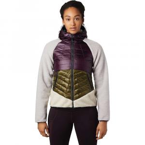 Mountain Hardwear Women's Altius Hybrid Hoody - Large - Darkest Dawn