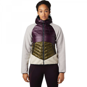 Mountain Hardwear Women's Altius Hybrid Hoody - Medium - Darkest Dawn