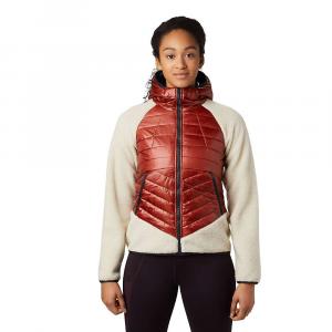 Mountain Hardwear Women's Altius Hybrid Hoody - Small - Rusted