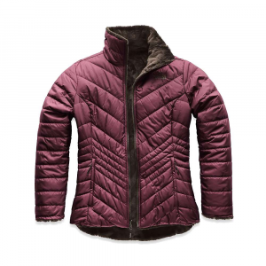The North Face Women's Mossbud Insulated Reversible Jacket - XS - Fig/Bittersweet Brown