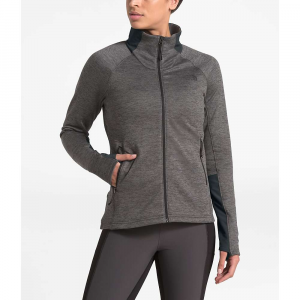 The North Face Women's Shastina Stretch Full Zip Jacket - Large - TNF Dark Grey Heather / Asphalt Grey