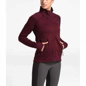 The North Face Women's Shastina Stretch Full Zip Jacket - Small - Deep Garnet Red / Deep Garnet Red