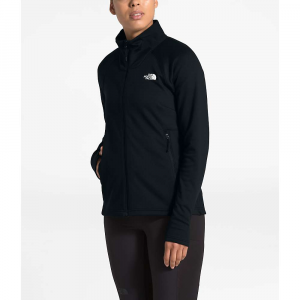The North Face Women's Shastina Stretch Full Zip Jacket - Small - TNF Black / TNF Black