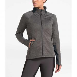 The North Face Women's Shastina Stretch Full Zip Jacket - Small - TNF Dark Grey Heather / Asphalt Grey