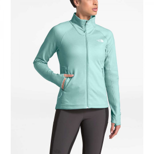 The North Face Women's Shastina Stretch Full Zip Jacket - Small - Windmill Blue Heather / Windmill Blue