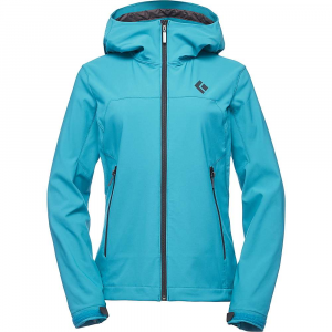 Black Diamond Women's Dawn Patrol Shell Jacket - Small - Aqua Verde