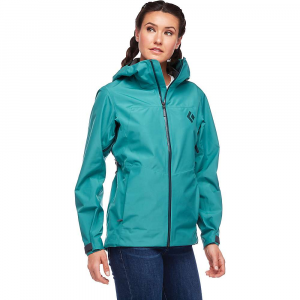 Black Diamond Women's Liquid Point Shell Jacket - Small - Meadow Green