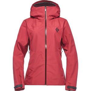 Black Diamond Women's Liquid Point Shell Jacket - Small - Wild Rose
