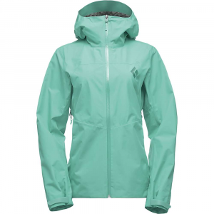 Black Diamond Women's Liquid Point Shell Jacket - XS - Jade