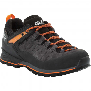Jack Wolfskin Men's Scrambler XT Texapore Low Shoe - 10.5 - Phantom / Orange