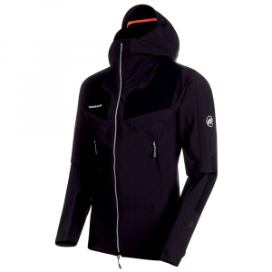 Mammut Men's Aenergy Pro SO Hooded Jacket - Medium - Black