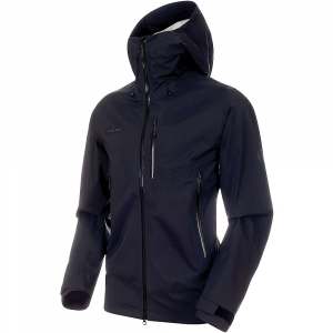 Mammut Men's Kento Hardshell Hooded Jacket - XL - Black