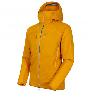 Mammut Men's Rime IN Flex Hooded Jacket - Large - Golden