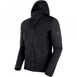 Mammut Men's Rime Light Insulation Flex Hooded Jacket - Medium - Black