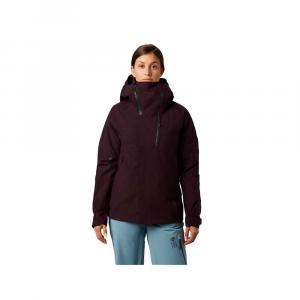 Mountain Hardwear Women's Cloud Bank GTX Insulated Jacket - Large - Darkest Dawn
