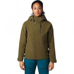 Mountain Hardwear Women's Cloud Bank GTX Insulated Jacket - Small - Combat Green