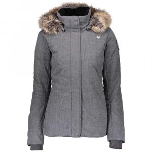 Obermeyer Women's Tuscany II Jacket - 4 Petite - Charcoal