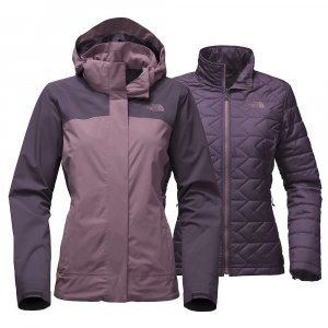 The North Face Women's Carto Triclimate Jacket - Small - Black Plum / Dark Eggplant Purple