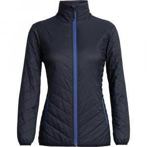 Icebreaker Women's Hyperia Lite Jacket - Medium - Midnight Navy