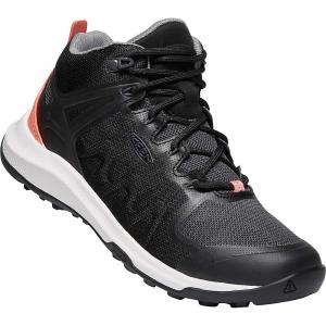 Keen Women's Explore Vent Mid Shoe - 8.5 - Black / Coral