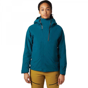 Mountain Hardwear Women's Cloud Bank GTX Insulated Jacket - Medium - Dive