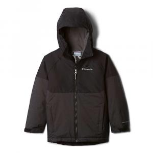 Columbia Boys' Alpine Action II Jacket - Small - Black Heather/Black
