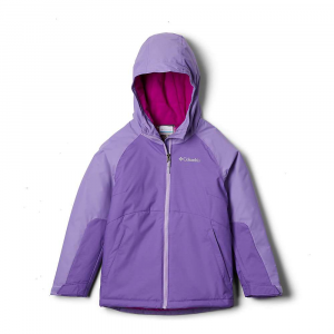 Columbia Girls' Alpine Action II Jacket - XL - Grape Gum/Paisley Purple