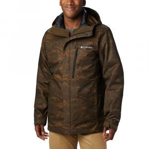Columbia Men's Whirlibird IV Interchange Jacket - Small - Olive Green Mountains Jacquard Print