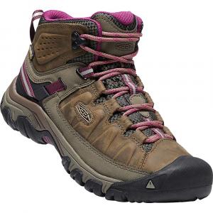 Keen Women's Targhee III Mid Waterproof Shoe - 5 - Weiss / Boysenberry