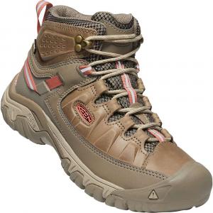 Keen Women's Targhee III Mid Waterproof Shoe - 6 - Safari / Coral