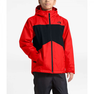 The North Face Boys' Clement Triclimate Jacket - Medium - Fiery Red