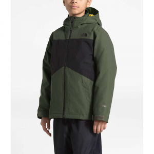 The North Face Boys' Clement Triclimate Jacket - Medium - New Taupe Green