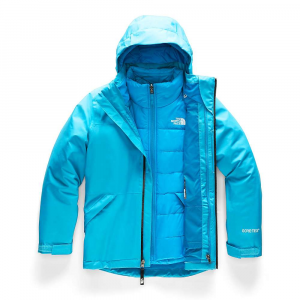 The North Face Girls' Fresh Tracks Triclimate Jacket - XL - Turquoise Blue