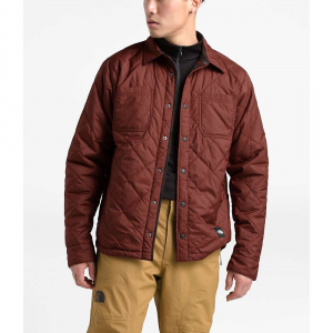 The North Face Men's Fort Point Insulated Flannel Jacket - Medium - Sequoia Red