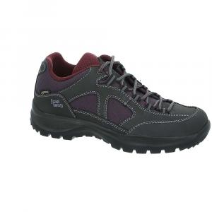 Hanwag Women's Gritstone II Lady GTX Boot - 10.5 - Asphalt/Dark Garnet