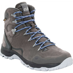 Jack Wolfskin Women's Altiplano Prime Texapore Mid Boot - 8 - Dark Steel
