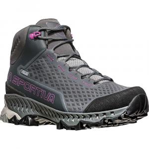 La Sportiva Women's Stream GTX Boot - 41.5 - Carbon / Purple