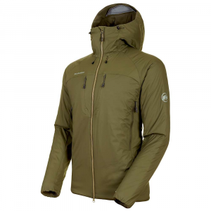 Mammut Men's Rime IN Flex Hooded Jacket - Medium - Iguana