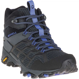 Merrell Women's Moab FST 2 Mid Waterproof Boot - 10.5 - Black / Granite