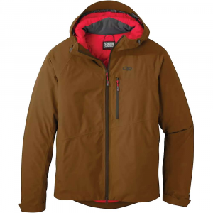 Outdoor Research Men's Fortress Jacket - Medium - Saddle