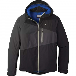 Outdoor Research Men's Fortress Jacket - Small - Black / Storm