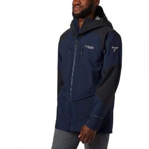 Columbia Men's Titanium Snow Rival Shell Jacket - Small - Collegiate Navy / Black